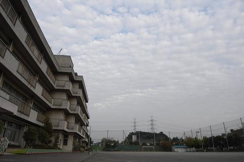 矢沢小の空 2007年10月